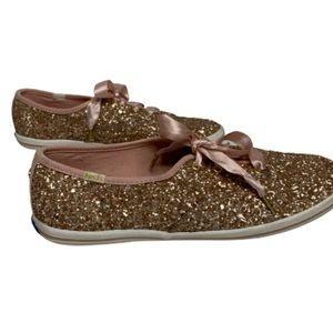 kate spade Shoes - Kate Spade Keds Glitter Sneakers Size 8.5